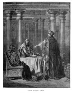 Queen Esther in the Kings Court defending her people
